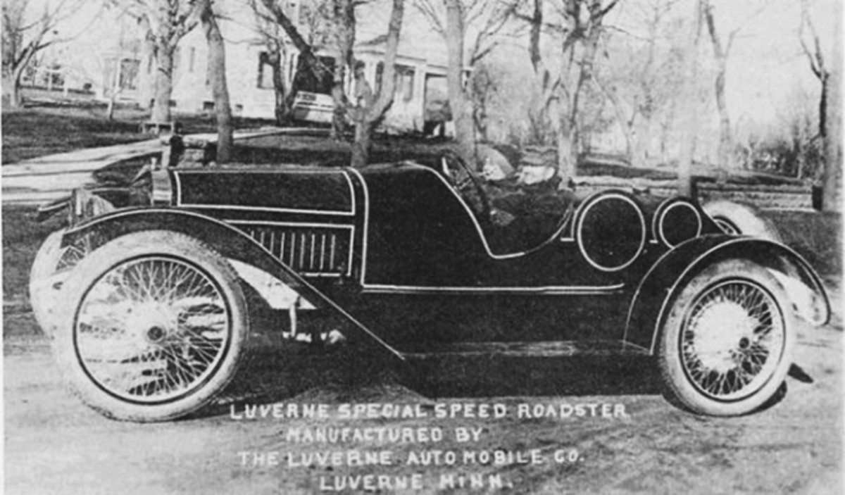 The Luverne Special Speed Roadster may have been a one-off car.