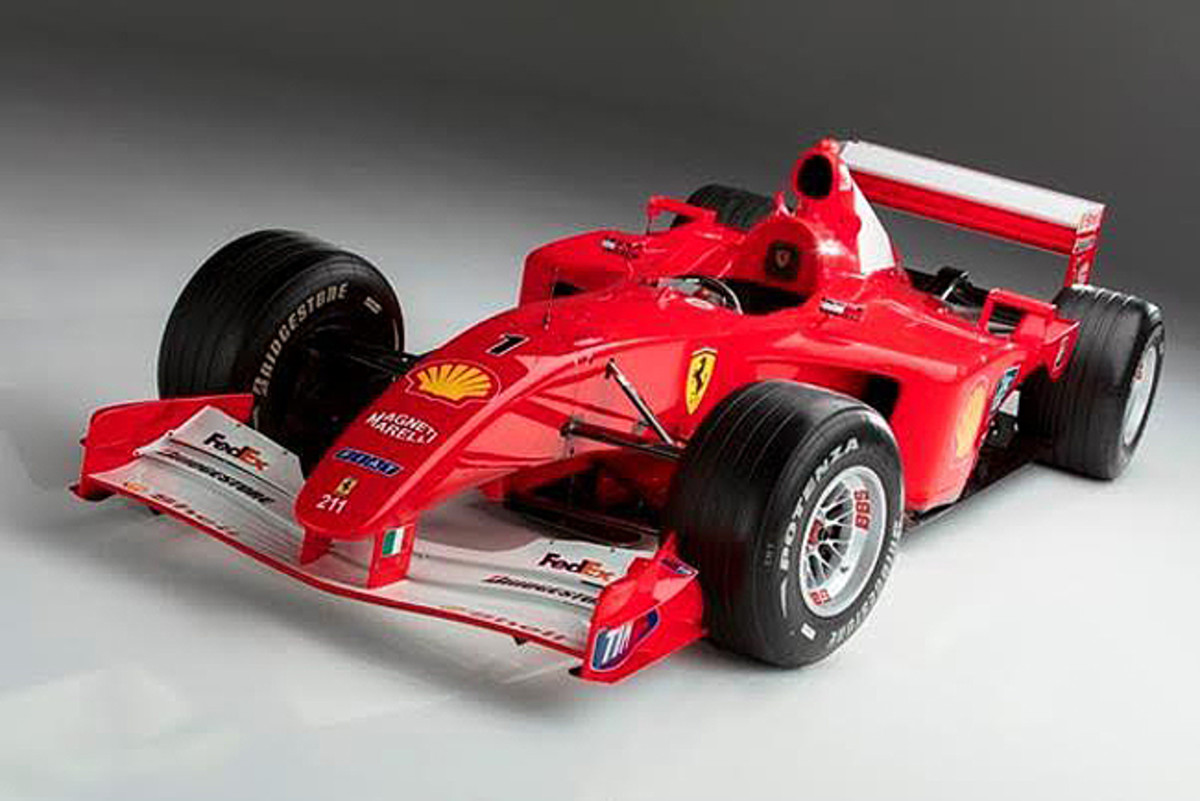 The 2001 Ferrari F2001, chassis 211, Photo Credit – Pawel Litwinski © 2017 Courtesy Sotheby's