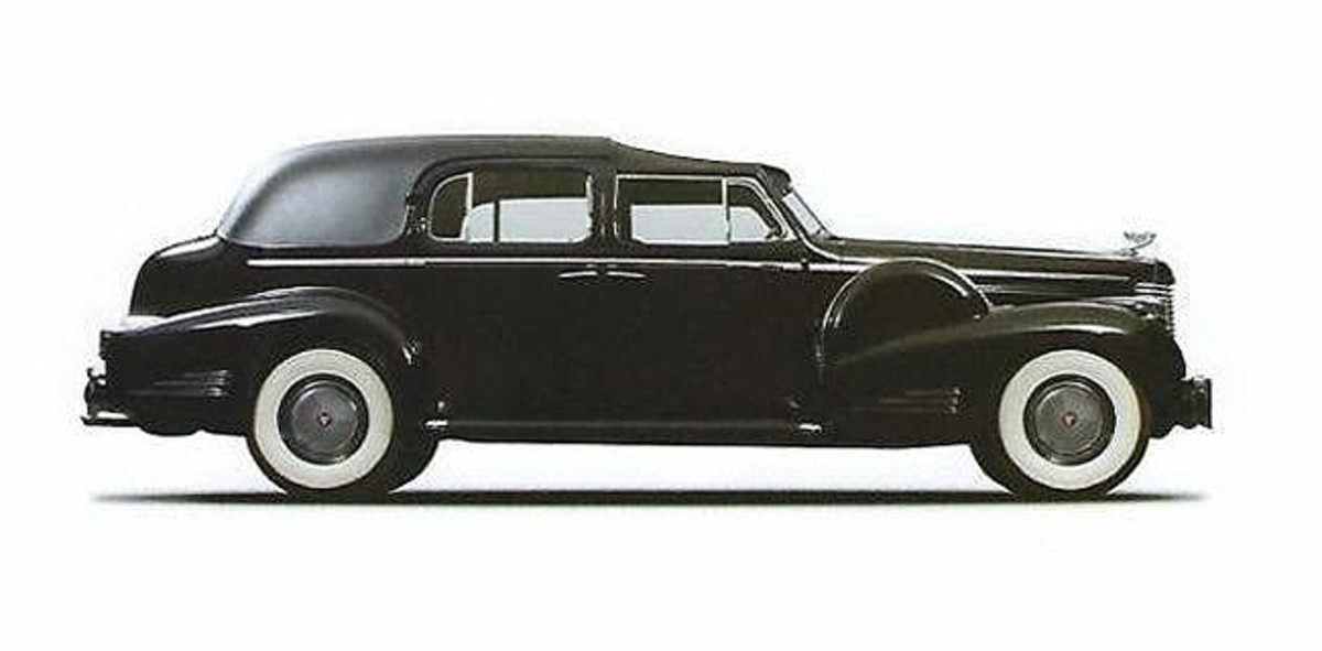 1938 Cadillac V16 Limousine Town Car . This Cadillac was commissioned to the Vatican Motor Pool. The Cardinal and Pope Pius XII used the car on many occasions and it stayed with the fleet until sold to the current owner. Photo courtesy of Nicola Bulgari.