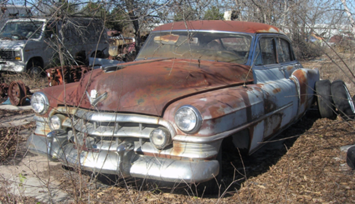 If the bill passes, cars such as this Cadillac would be considered a 'nuisance' and could be removed from the owner's property by government agents.