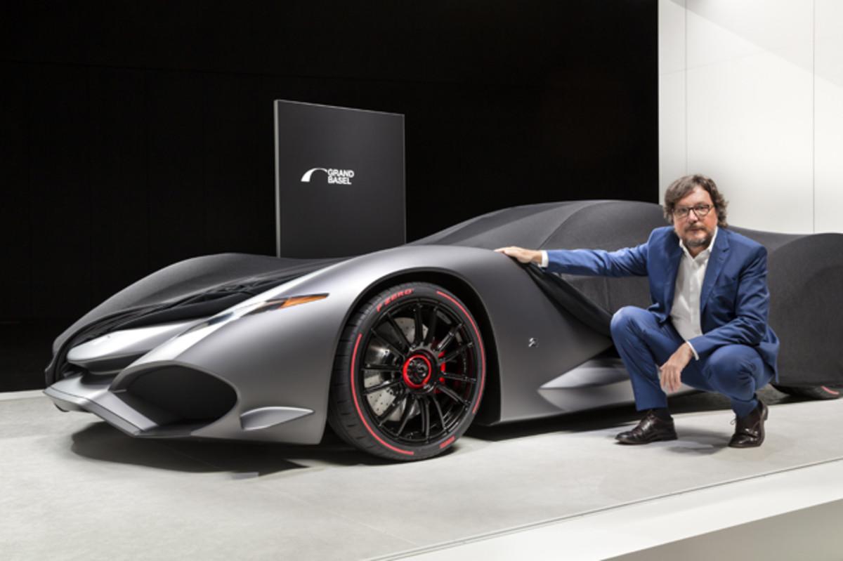 Grand Basel: Andrea Zagato announced a tribute to the legendary brand IsoRivolta: The Zagato IsoRivolta Vision Gran Turismo concept. © Grand Basel /diephotodesigner.de