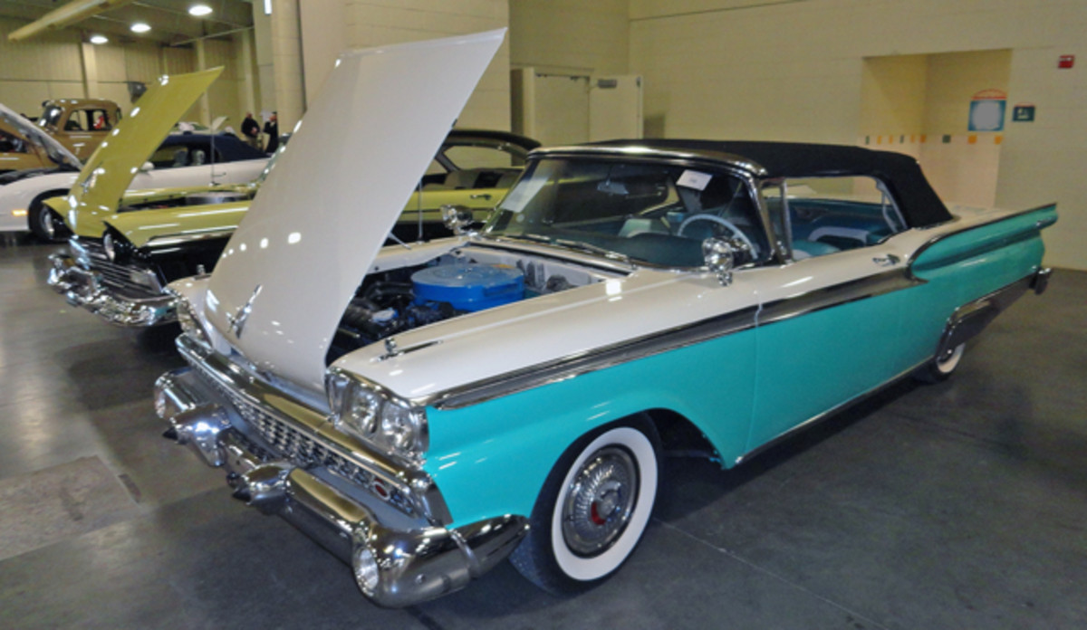 1959 Ford Convertible From the John & Mary Ann McDaniel collection