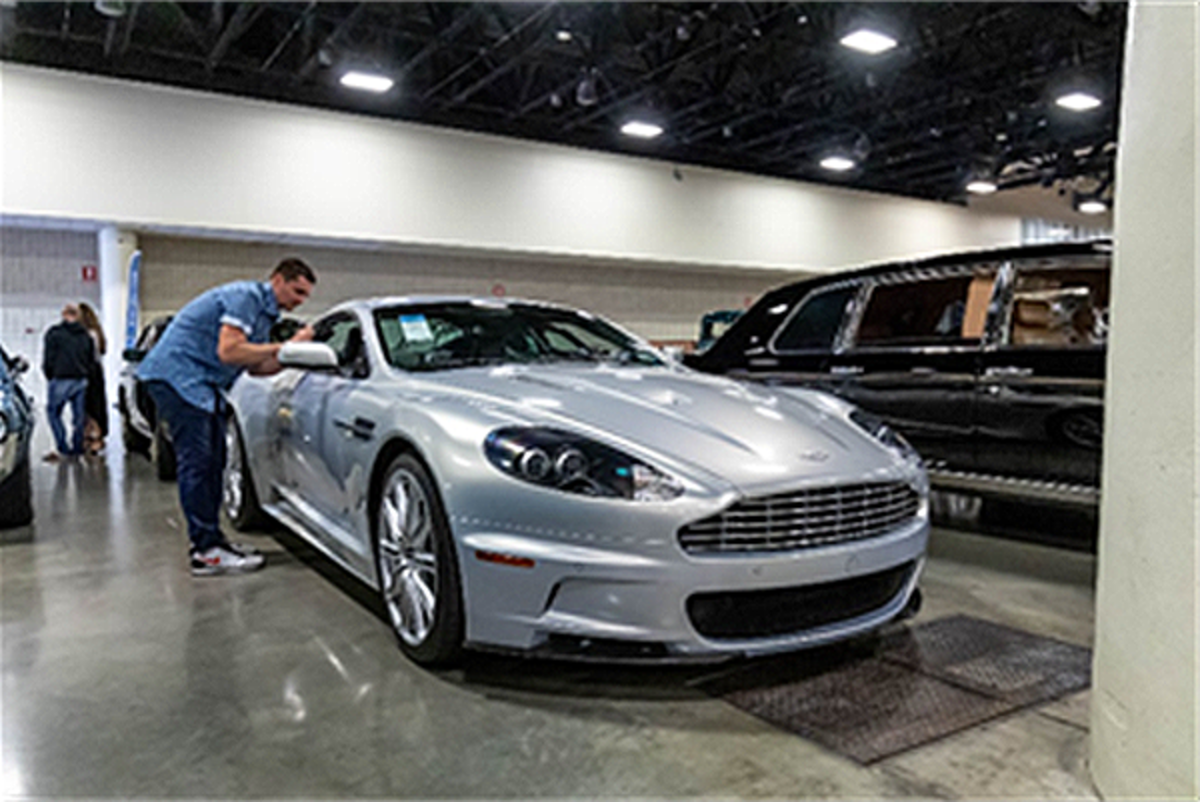 2009 Aston Martin DBS presented from the Youngtimer Collection (Andrew Miterko © 2019 Courtesy of RM Auctions)