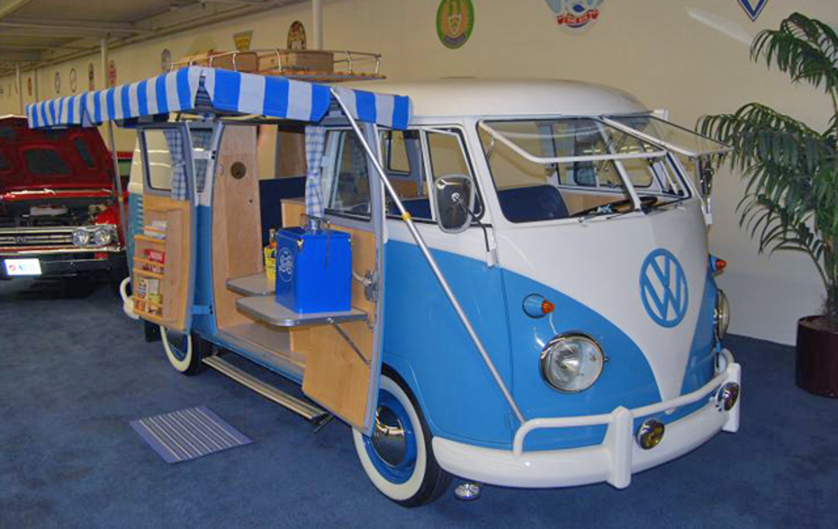 Six-figure Kombi Campers in museums? Maybe I sold my '67 too soon.