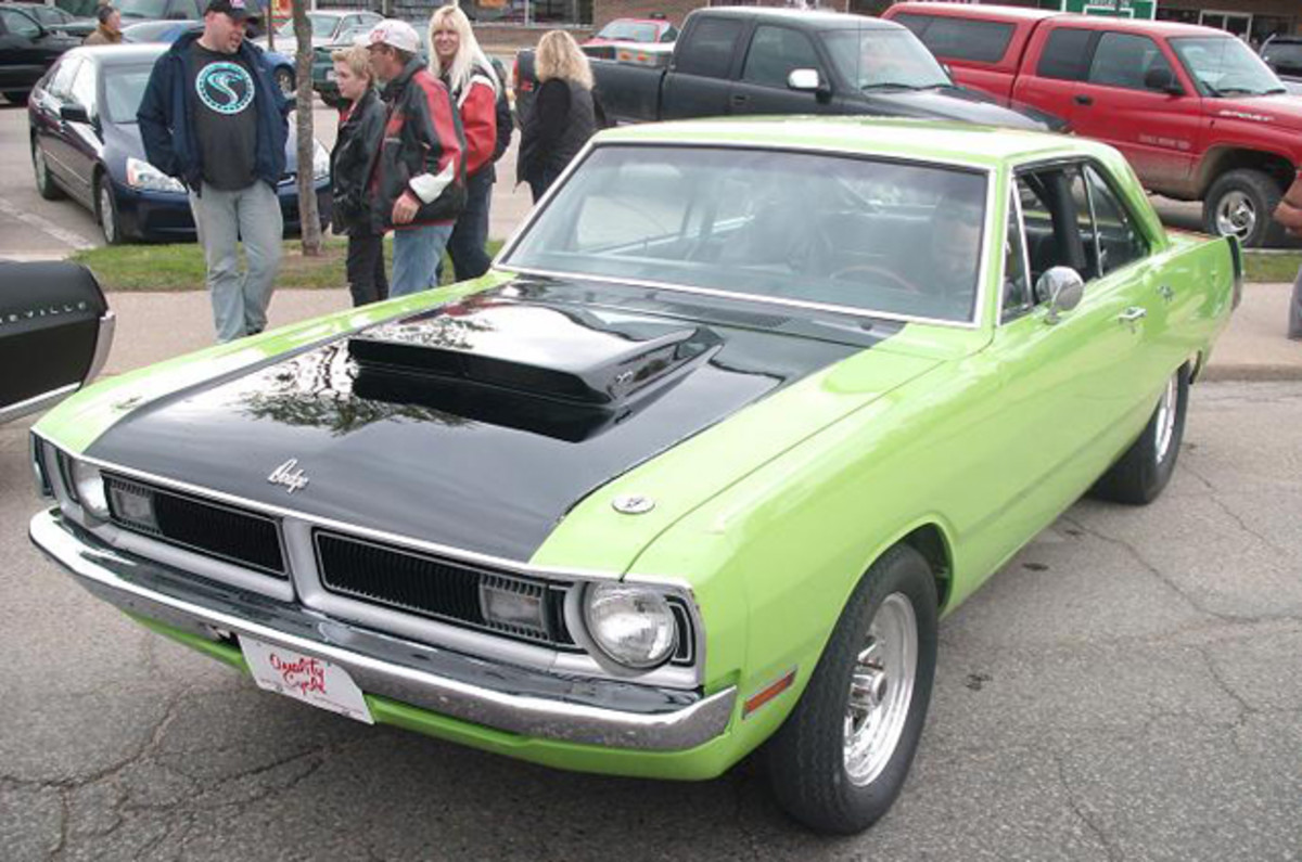 Scott Severson's Dodge Dart was a colorful addition to the show.