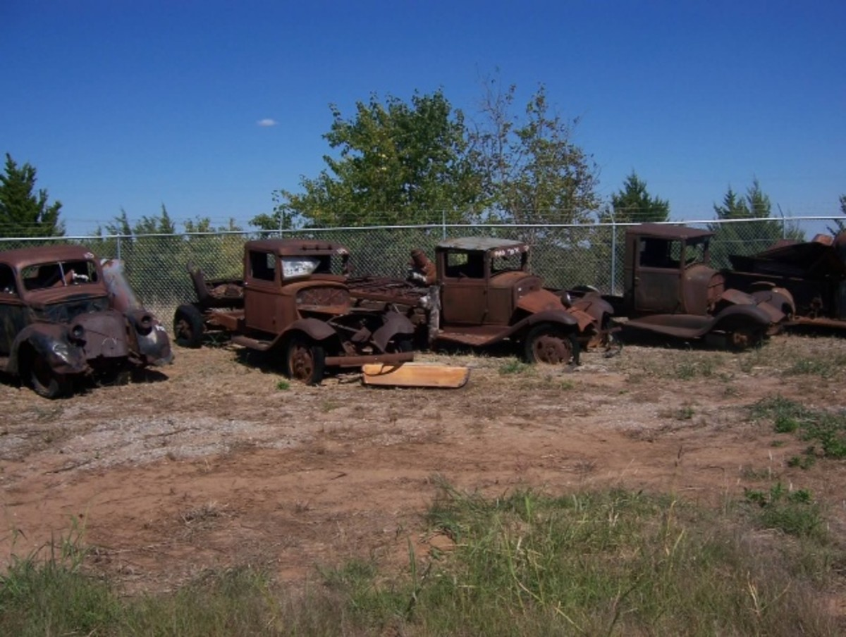Trucks from the Jordon Collection to be offered during the sale.