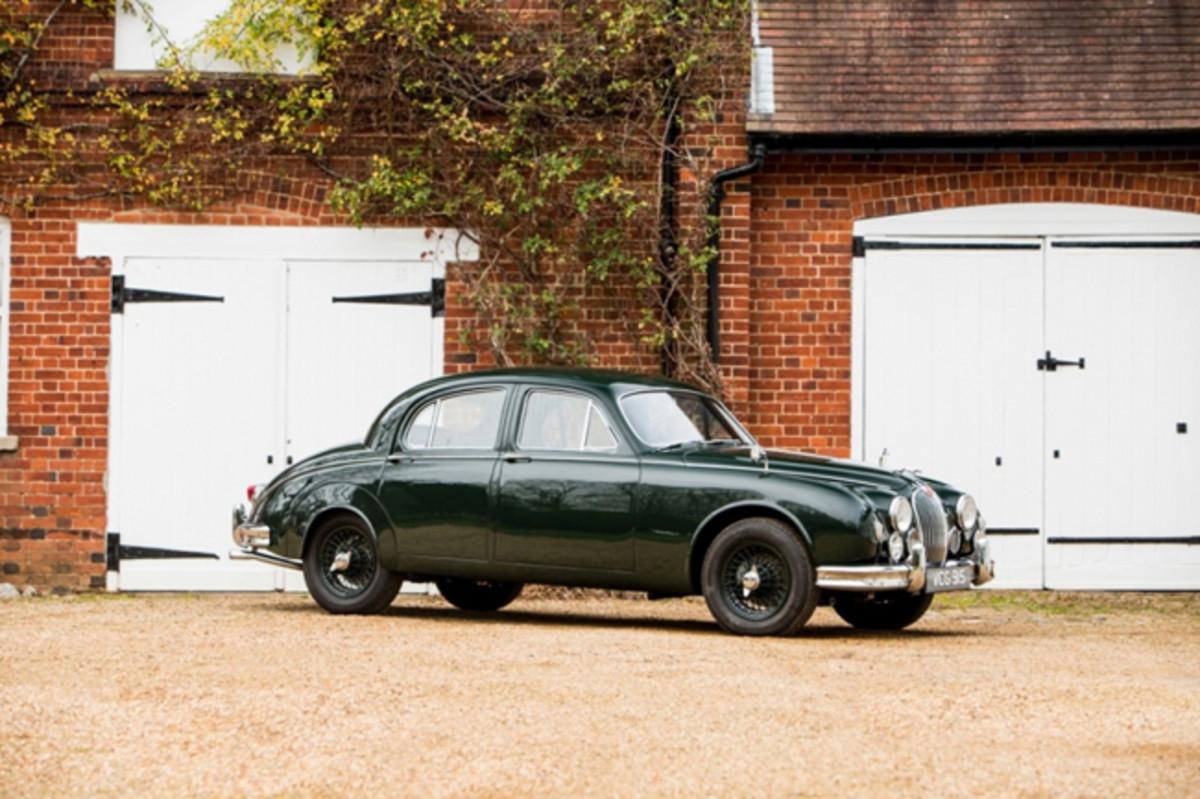 1959 Jaguar MK1. Photo - Silverstone Auctions
