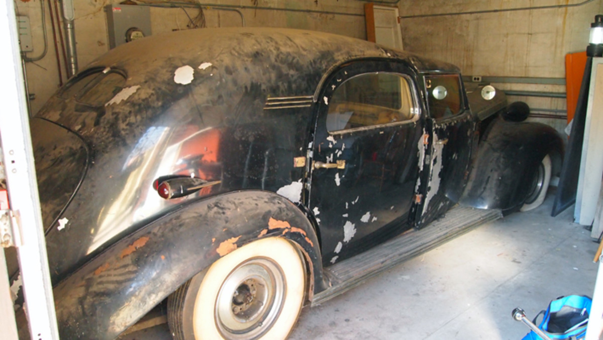 When Howard Kroplick first laid eyes on the LeBaron-bodied town car built for Mrs. Walter P. Chrysler in 2011, it was dusty, its black paint was flaking off and a few parts were missing. Nonetheless, he saw its potential.