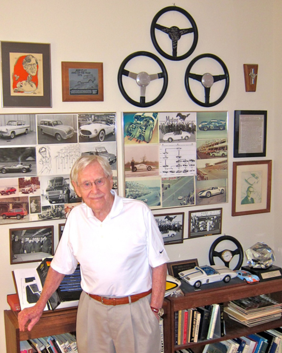 Roy Lunn in home office.Marty Schorr photojpg