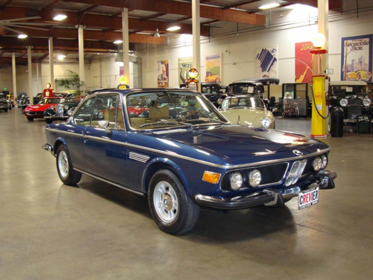 This 1973 BMW 3.0 was garaged in a BMW car museum in Newport Beach for years. It is among nearly 600 cars, trucks and motorcycles will be auctioned on the Feb. 23-25 at McCormick's Palm Springs Collector Car Auction.