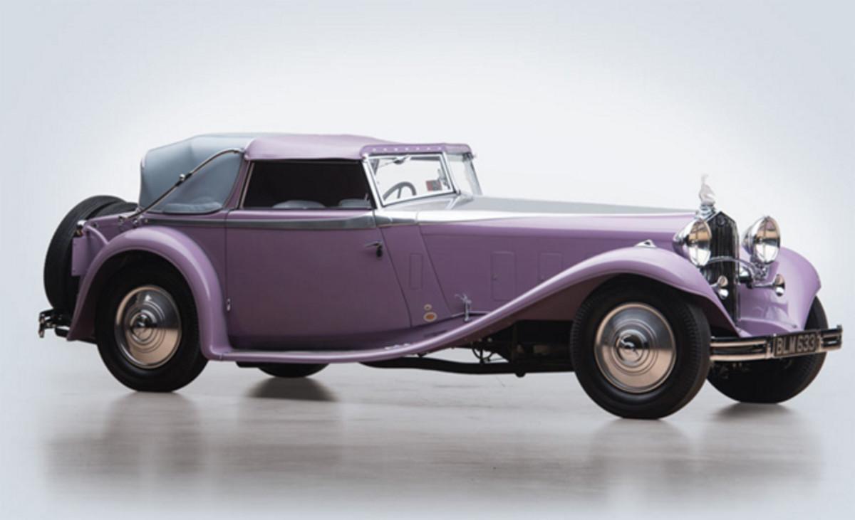 1934 Delage D8 S Cabriolet