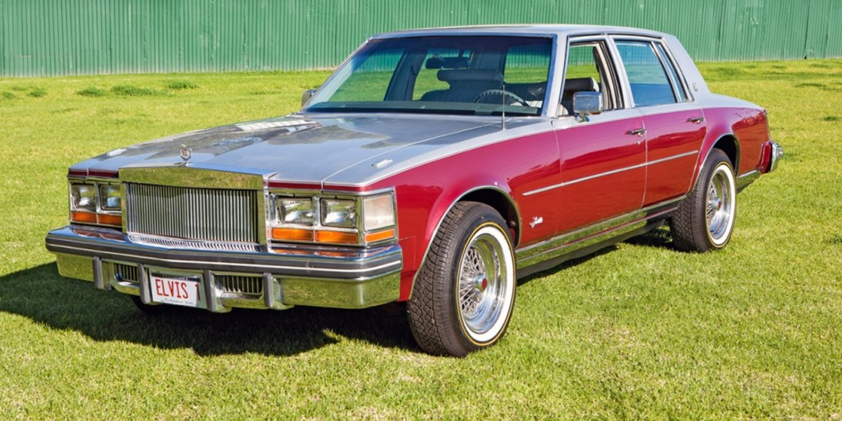The first-ever auction at Graceland will feature the last Cadillac bought and driven by Elvis Presley.