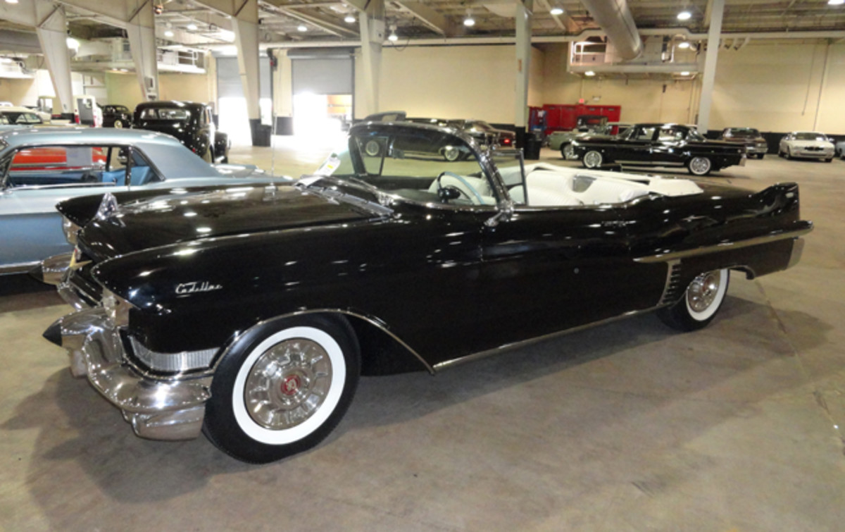 1957 Cadillac convertible went for $74,000