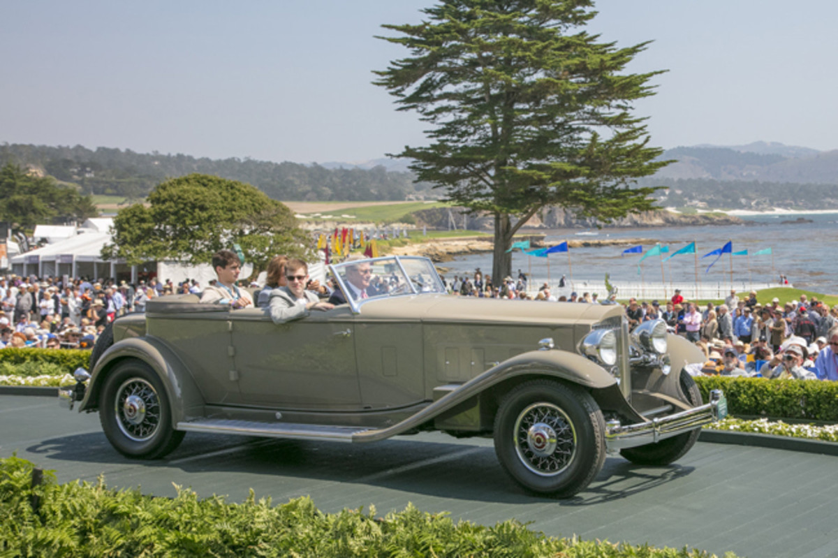1932 Packard 904 Deluxe Eight Dietrich Sport Phaeton © Kimball Studios / Courtesy of Pebble Beach Concours d'Elegance
