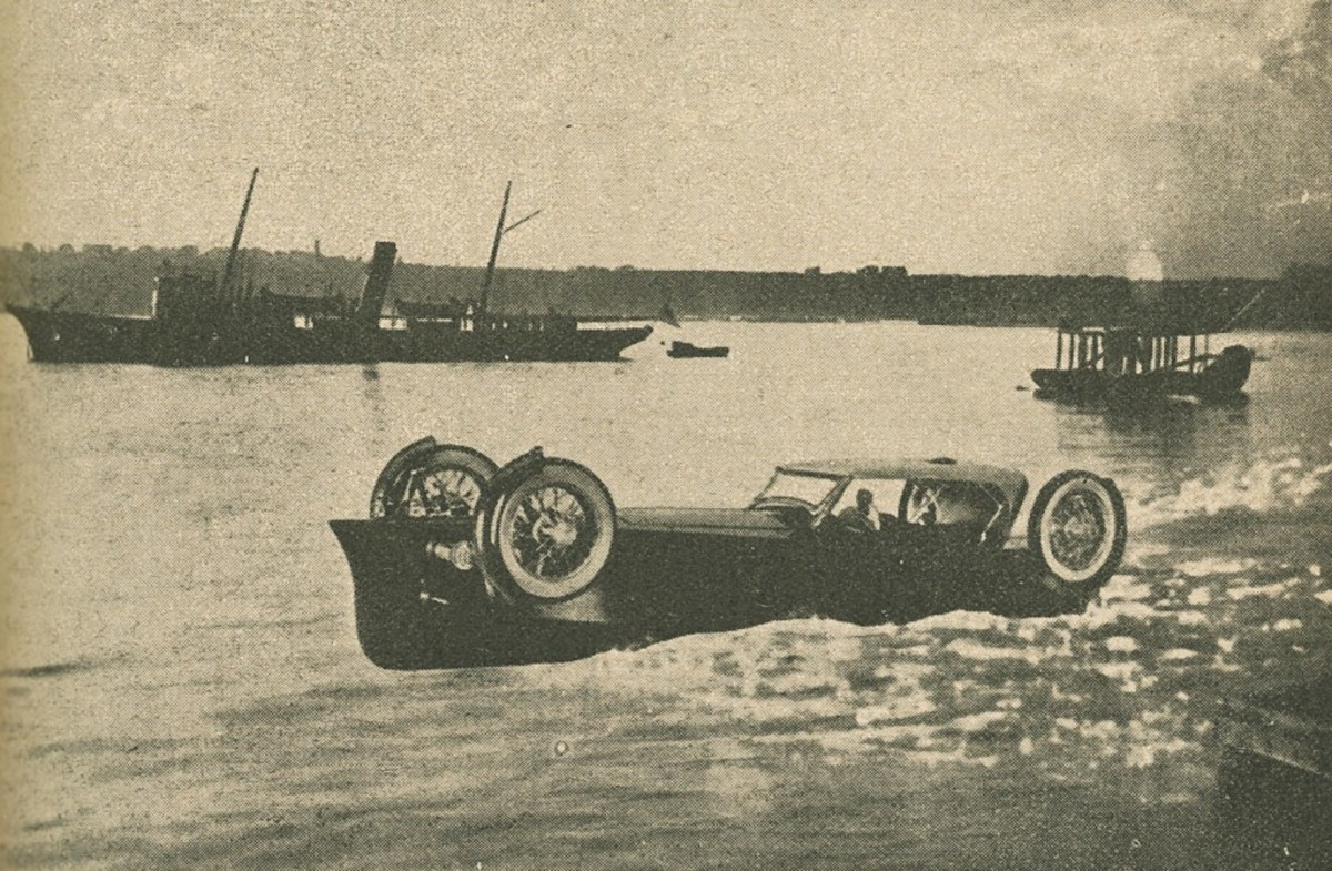 The Auto-Boat in water —is this a legitimate image?