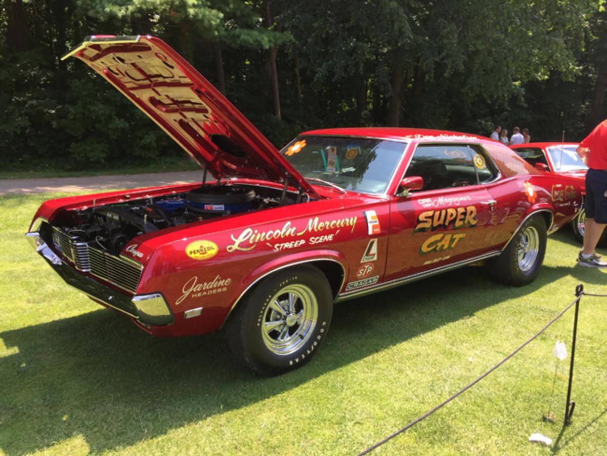 "The original Car Craft Magazine ""Super Cat"" Mercury Cougar crowned the Concours d'Elegance of America's muscle car class."