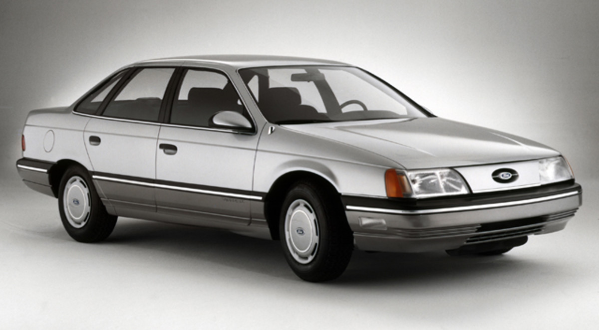 Despite the sales decline of domestic automobiles during the 1980s, Ford retained victories with such innovative vehicles as the 1986 Taurus, which greatly increased Ford Motor Co.'s income.