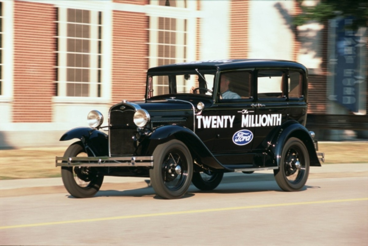 The restored 20 Millionth Ford, a 1931 Model A Fordor. FoMoCo paid for its restoration and then displayed it at its headquarters for 10 years. It's now back in its longtime owner's hands and will lead a MAFCA tour.