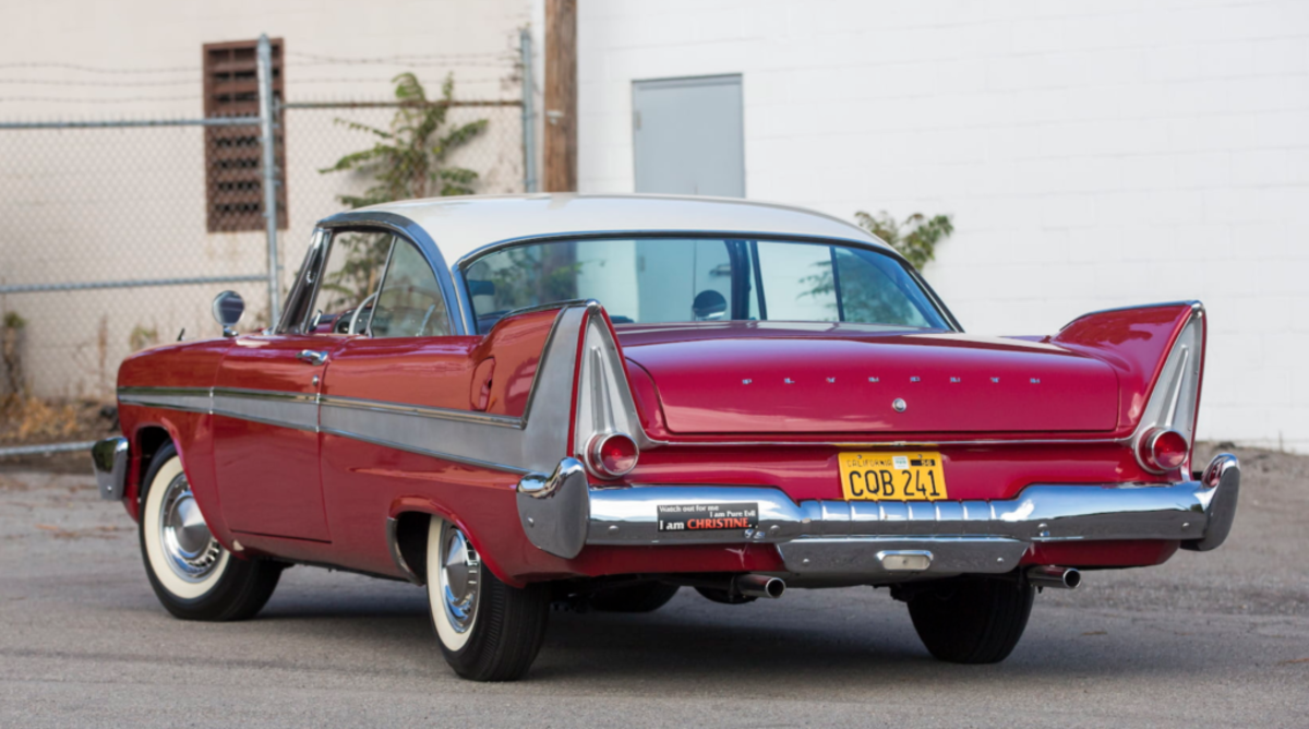 "The famous hero 1958 Plymouth from the film ""Christine"" will cross the Mecum Auctions block at Kissimmee, Florida, on January 10, 2020."