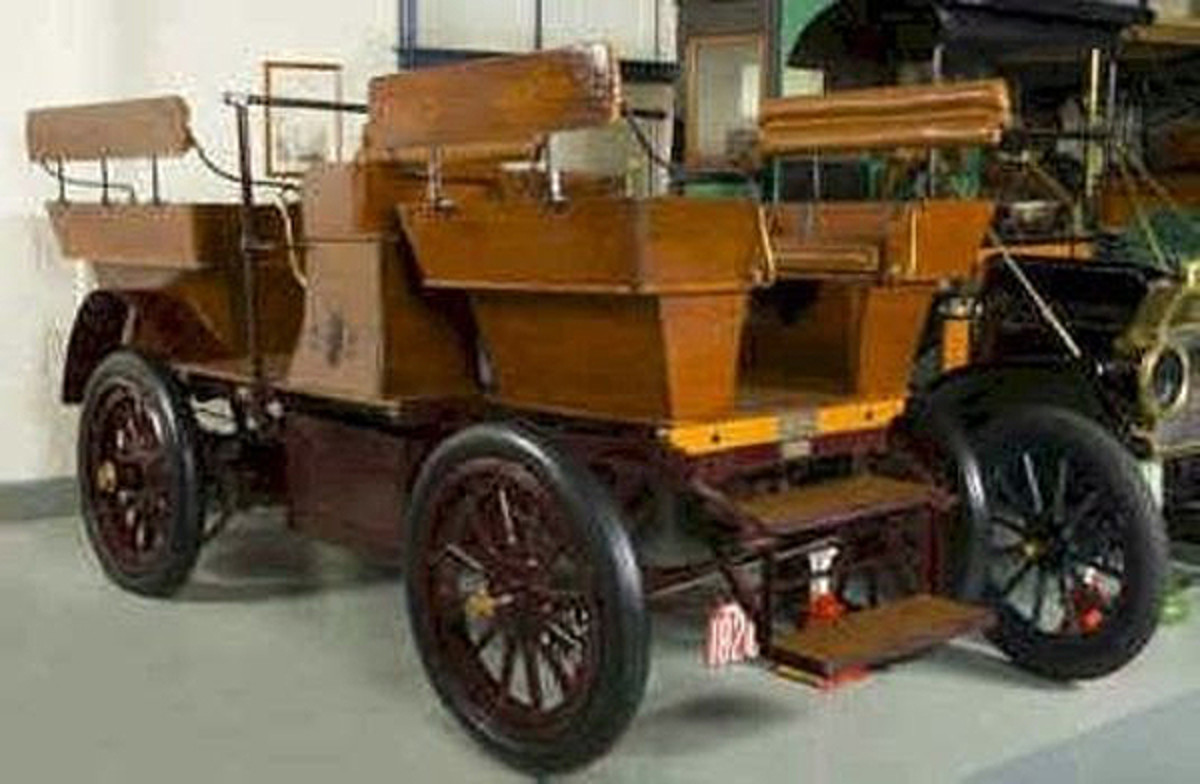 """1908 Studebaker Electric """"Carry- All"""""""