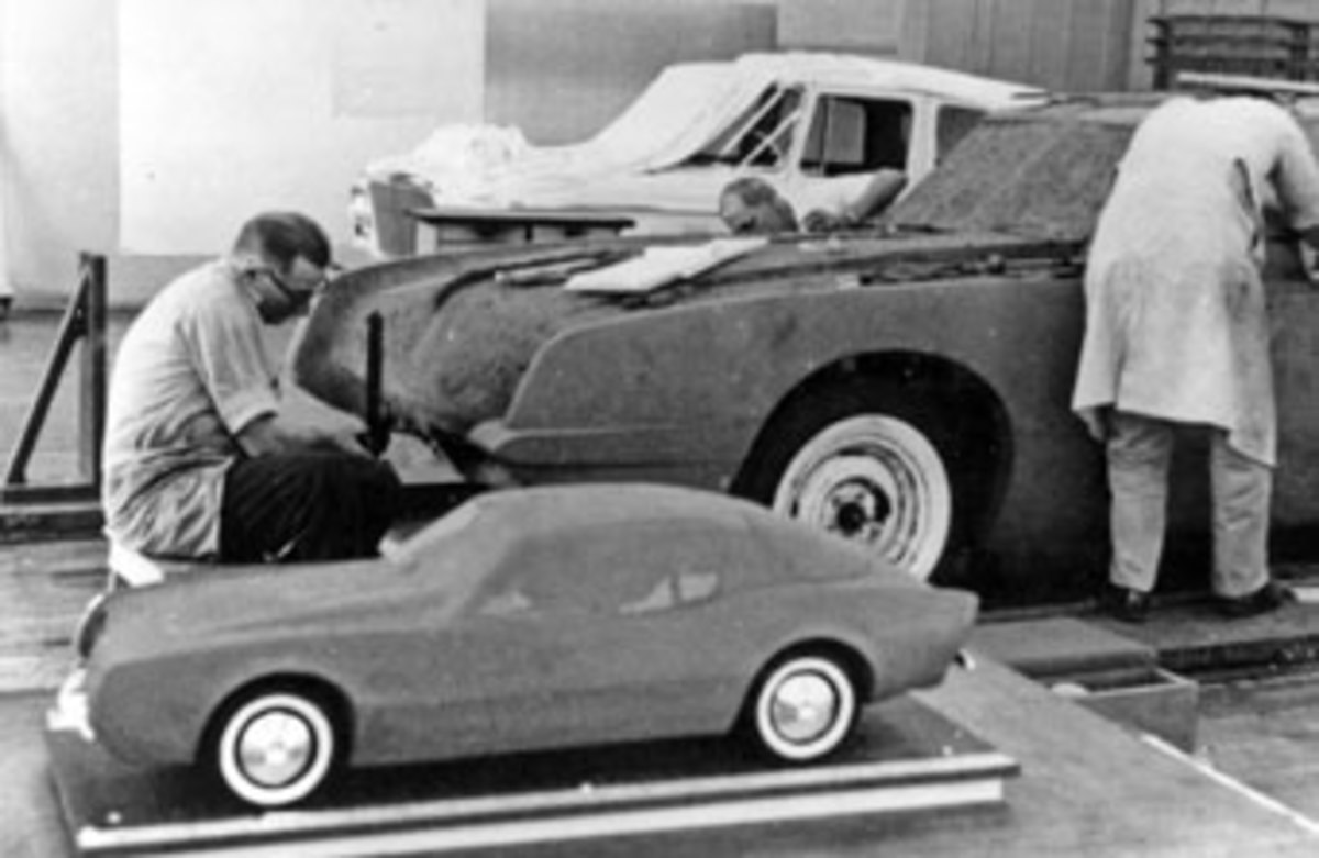 The Avanti is translated to clay in scale and full-size.
