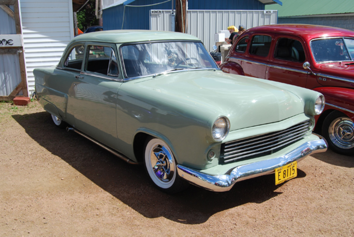 "'53 Ford Tudor sedan fits into ""mild custom"" category."