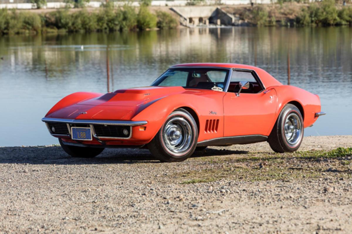 1969 Chevrolet Corvette L88. Photo - Worldwide Auctioneers