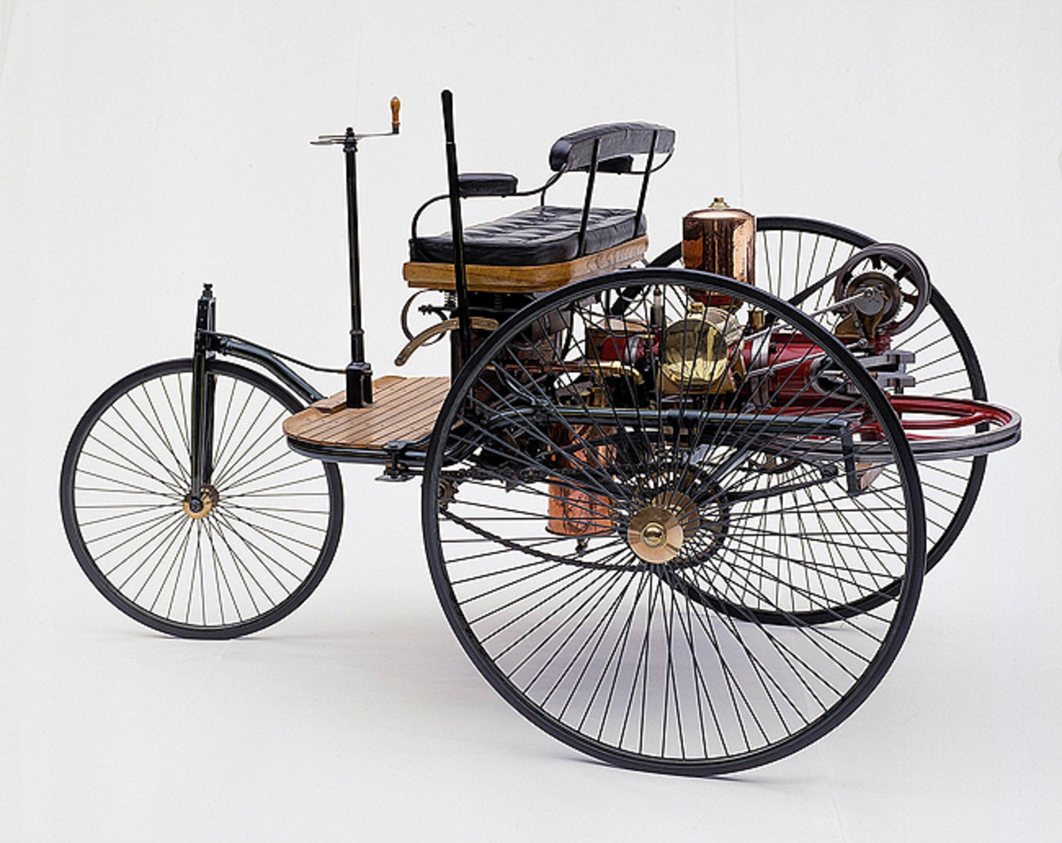 1886 Benz Motorwagen. Photo - Gilmore Car Museum