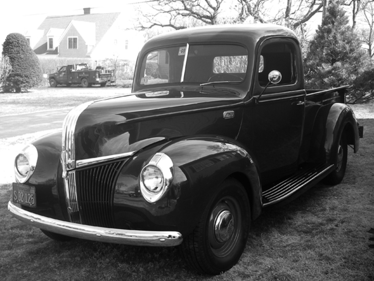 After 13 years of hard work, my 1941 Ford truck is back on the road a second time. My friends and I put a lot of elbow grease into making it roadworthy again, and I'm having a blast driving the truck again.
