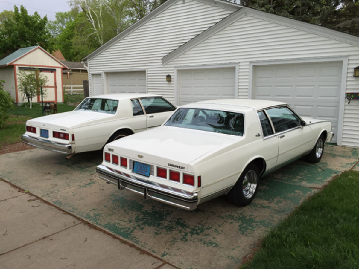 Before bidding at Mecum, I would have to sell my 1985 Caprice Landau and my 1981 Impala project car, both of which were rust-free Arizona cars. The Caprice had 152,000 miles and would eventually need an engine and transmission rebuild and a paint job, and I wasn't willing to stick that money into a car with a vinyl top. The Impala needed everything, but family obligations have kept me from doing much work on it. The answer was a low-mileage Caprice or Impala coupe, and the cars at Mecum exactly fit the bill. My Caprice was sold for $5K and the Impala for $2K to Wisconsin buyers.