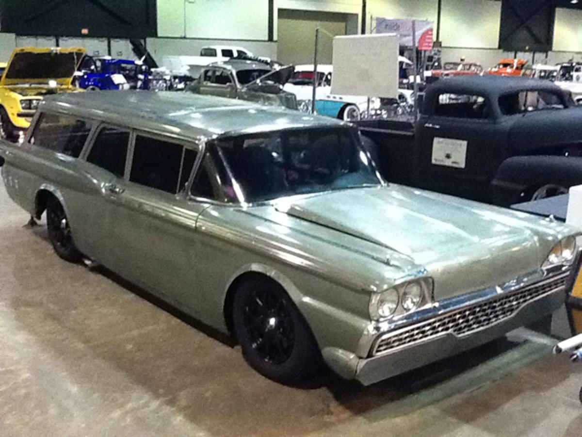 Brian's '59 Ford wagon.