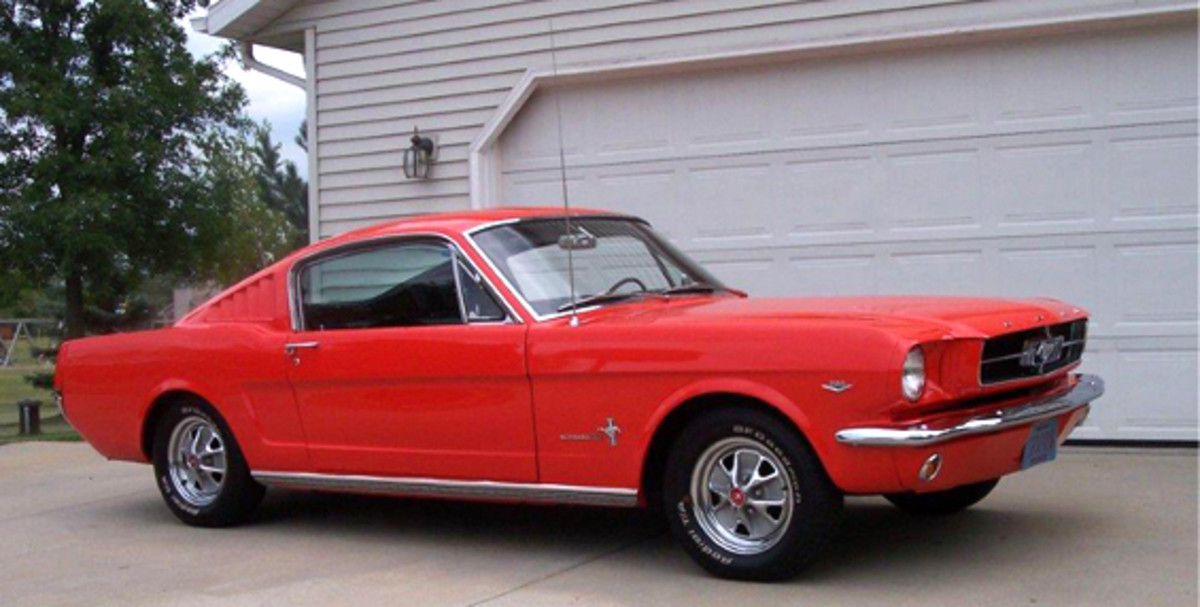 This 1965 Ford Mustang owned by William Ford, Fond du Lac, Wis., will be featured at the 2014 Iola Old Car Show.