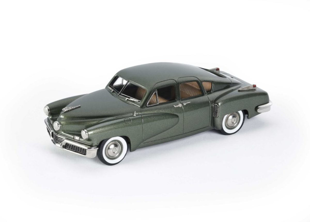 Brooklin's 1948 Tucker is now available in green.