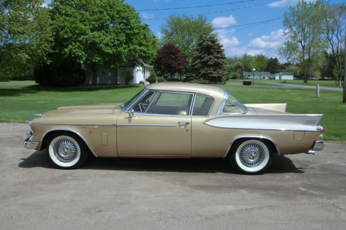 1957 Studebaker Golden Hawk owned by Brian and Renea Butler of