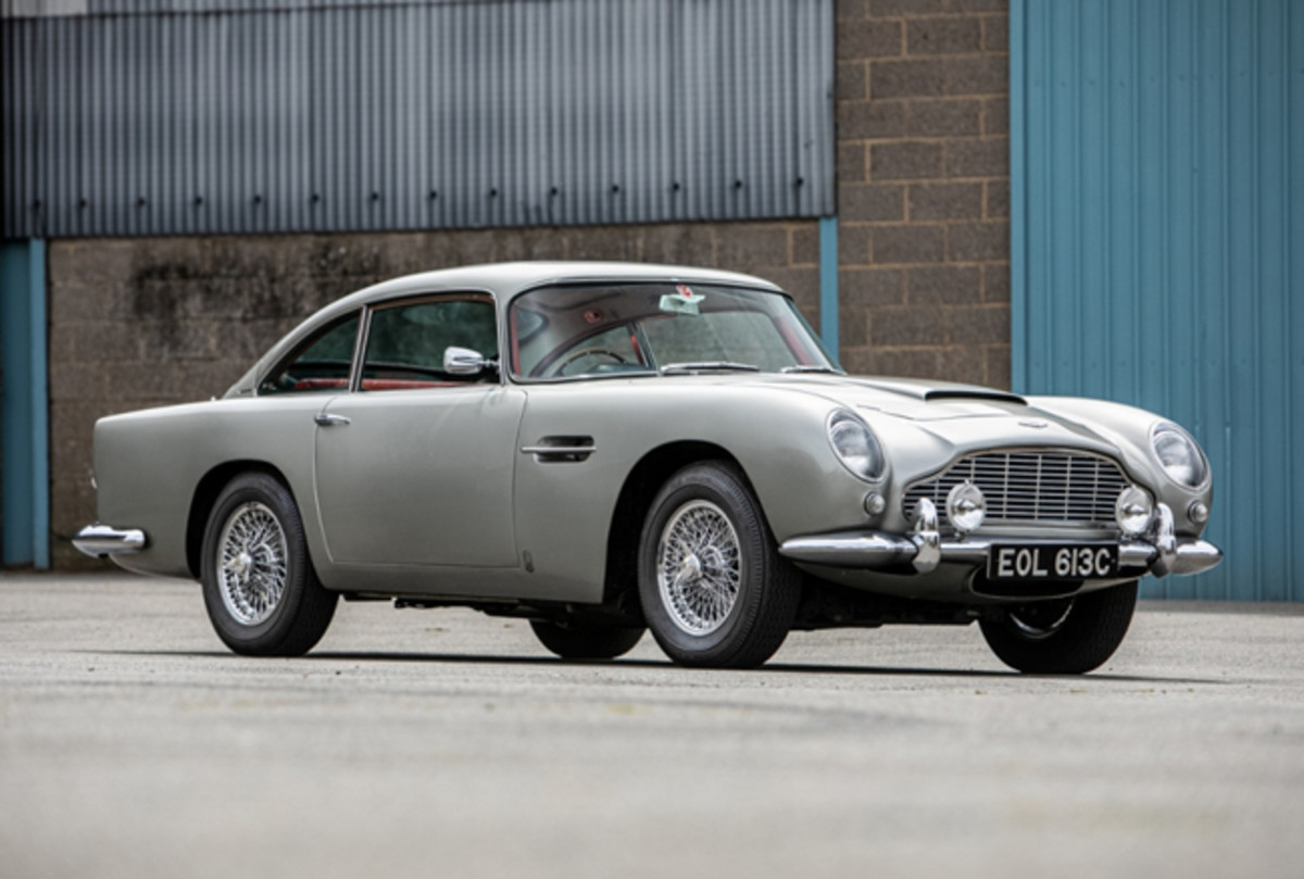 1965 Aston Martin DB5. Photo - Silverstone Auctions