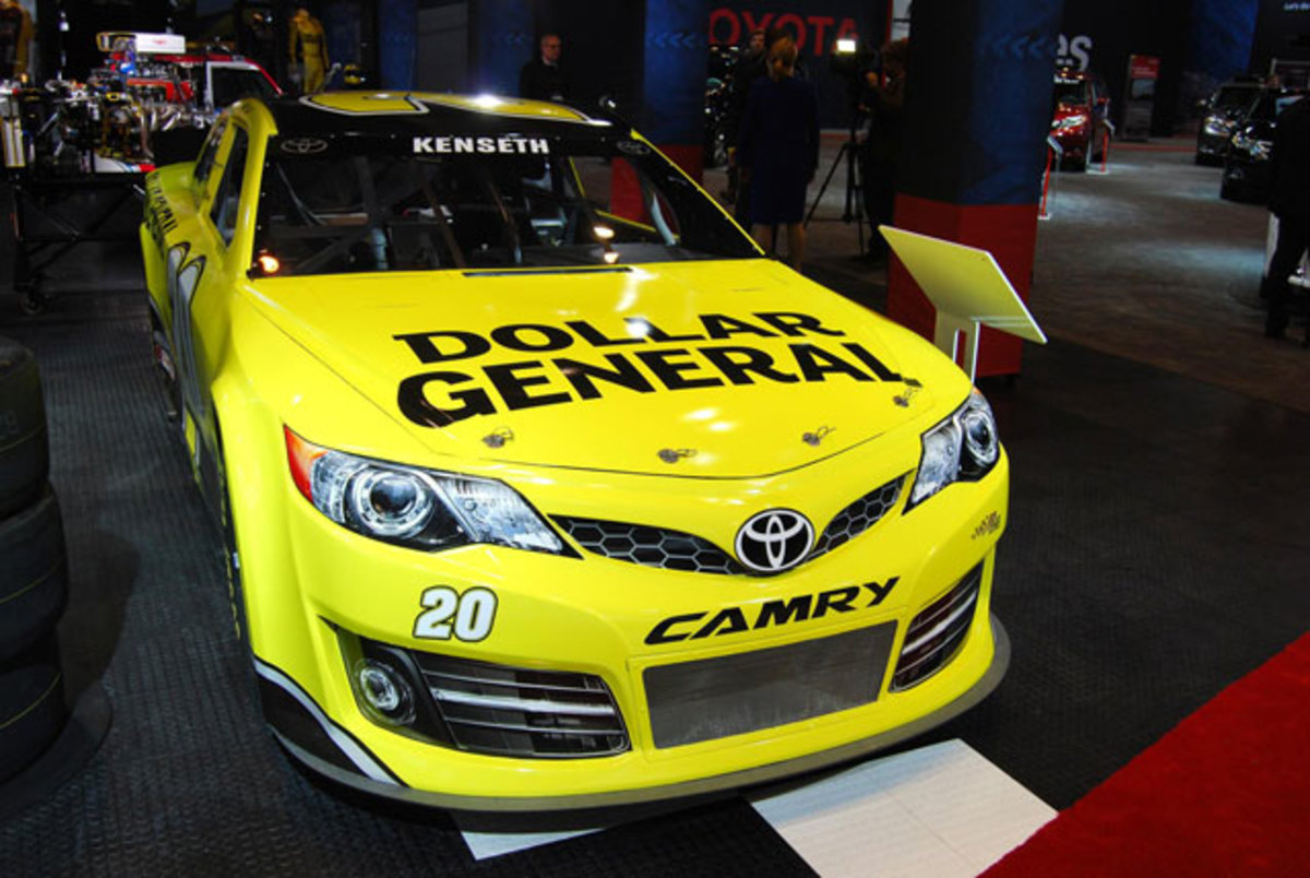 The Toyota Camry is making inroads in NASCAR racing.