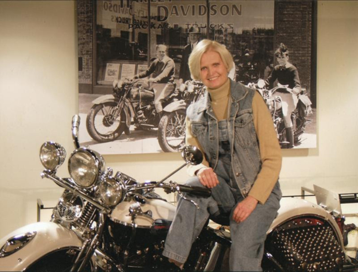 Vintage Rally guest Jean Davidson will speak on a variety of motorcycling topics and preview the Harley-Davidson Motor Company's 115th Anniversary celebration.