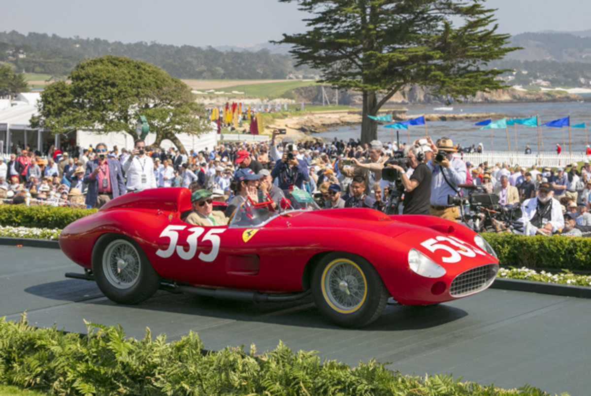 1957 315 S Scaglietti Spyder© Kimball Studios / Courtesy of Pebble Beach Concours d'Elegance