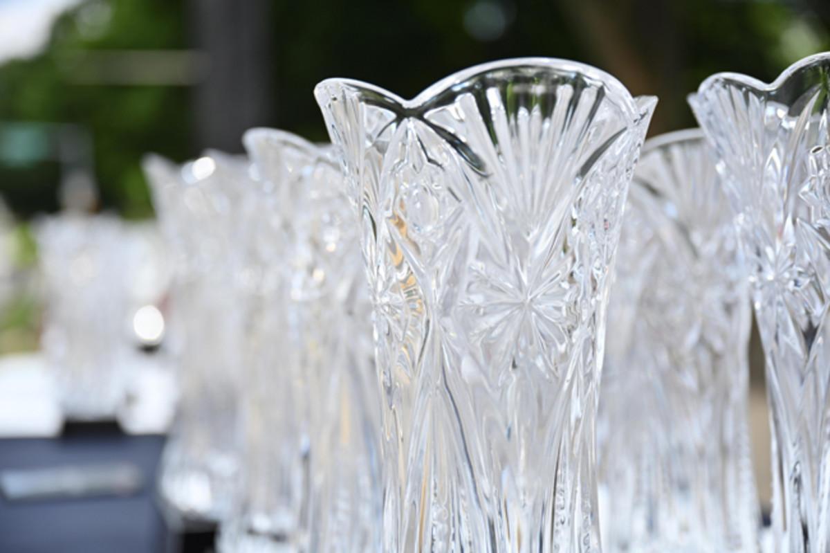 The 2019 Concours d'Elegance at Copshaholm trophies. Photo - 2019 Concours d'Elegance at Copshaholm