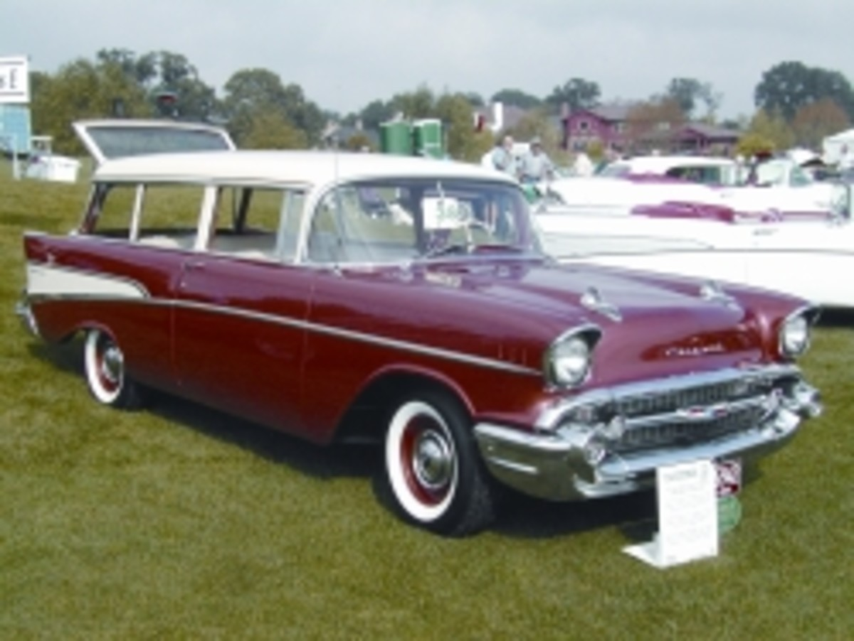 1957 Chevy Two-Ten Handyman wagon