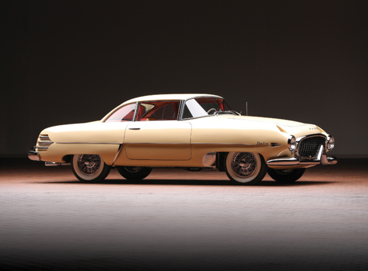 1955 Hudson Italia sold for $682,000 with 10% buyer's commission. (Worldwide Auctioneers photo)