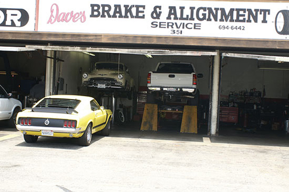 Dave's Brake & Alignment Service can service vintage and modern vehicles. It's getting more difficult as time passes, but search for a shop that enjoys working on vintage vehicles if it's necessary to have someone else complete work on your old car or truck.
