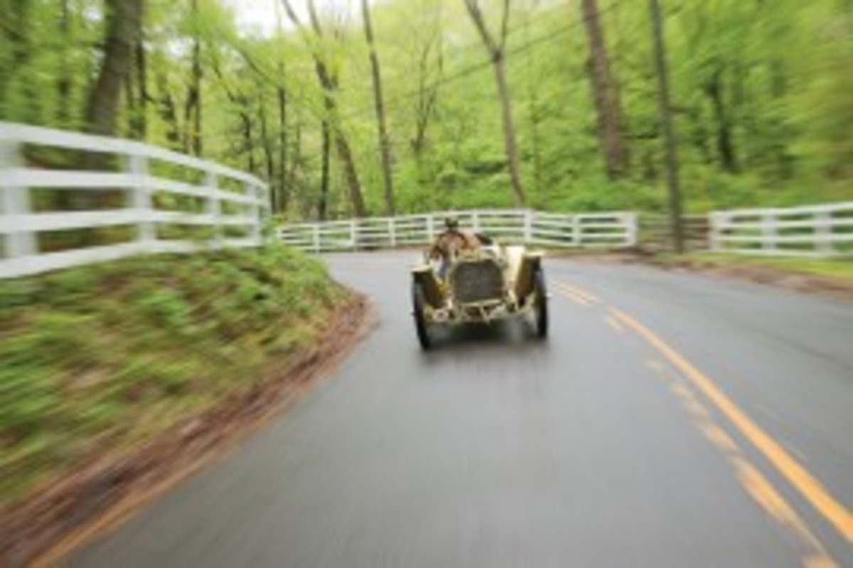 """The Henry Austin """"Austie"""" Clark Jr 1911 Mercer Raceabout."""
