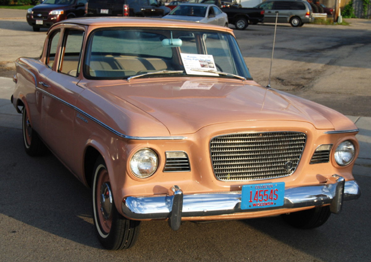 This Lark showed up at the Manawa Downtown Car Show in Manawa, Wis.