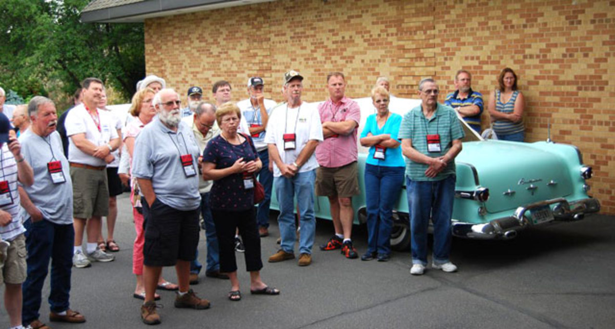 These members of the Pontiac Club (www.poci.org) toured to a country club for a great meal. Clubs are backbone of the hobby, but today they could use a shot in the arm more than a back rub.