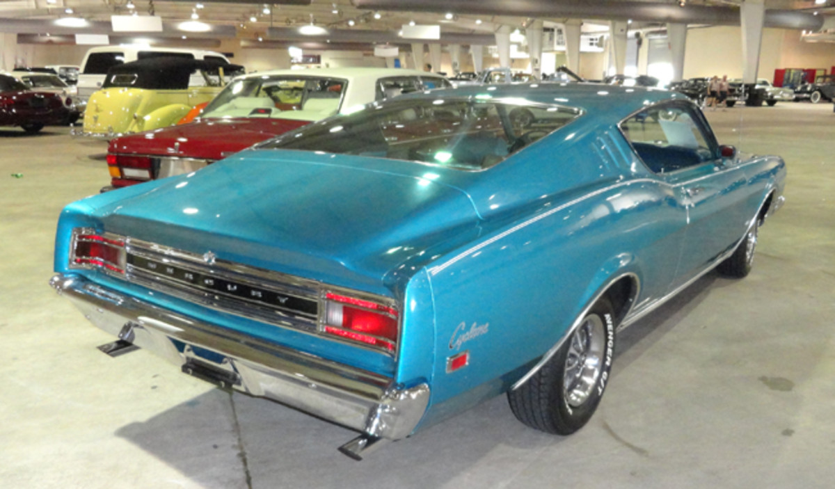 1969 Mercury Comet Cyclone went for $21,000