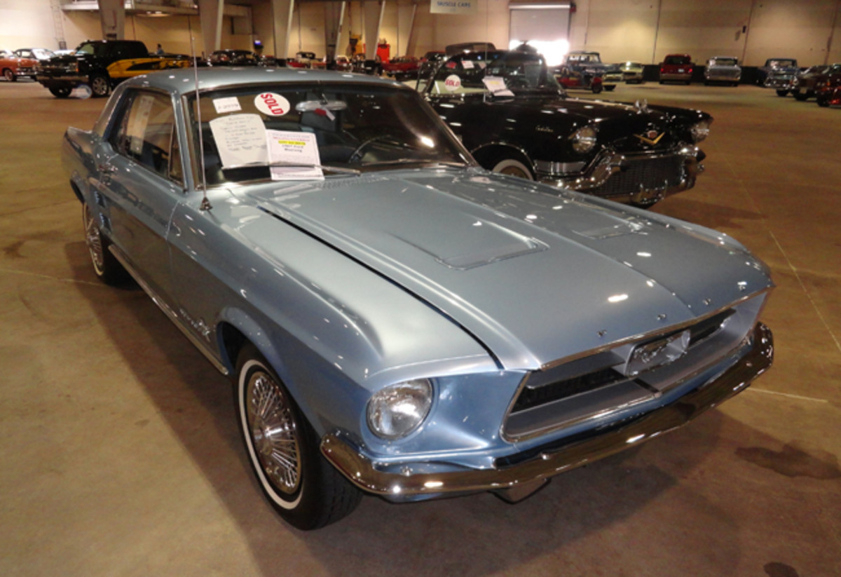 A 1968 Mustang 6-cyl. went for $16,500