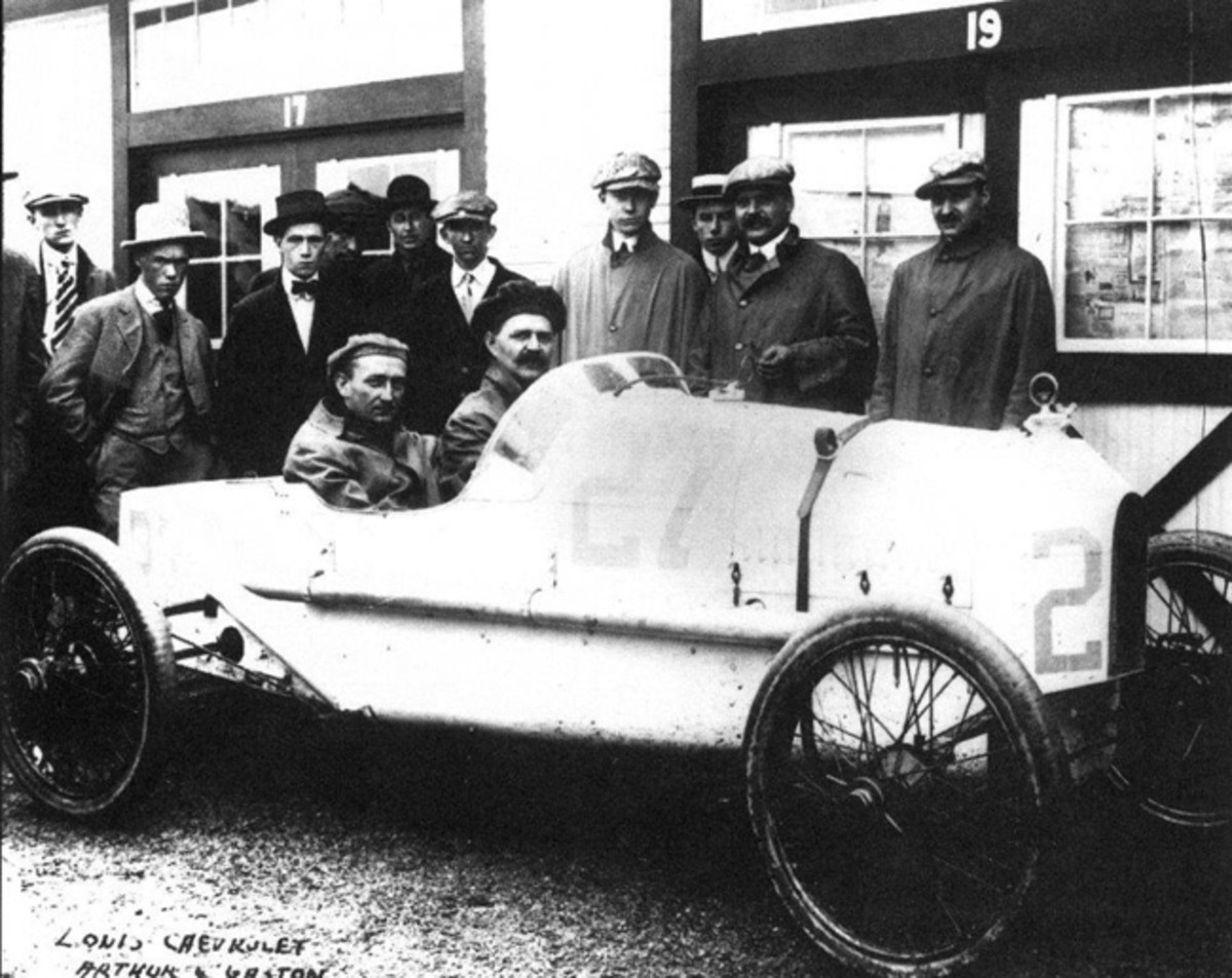 """The Indy 500 – known as the """"Greatest Spectacle in Racing""""– has had strong West Michigan ties for more than a century. The Cornelian racecar driven by Louis Chevrolet on the famed brick paved Indianapolis 500 in 1915 was built in nearby Allegan and is on display at the Museum. Just over fifty years later the Kalamazoo-based Gilmore race team began a record breaking relationship with the race."""