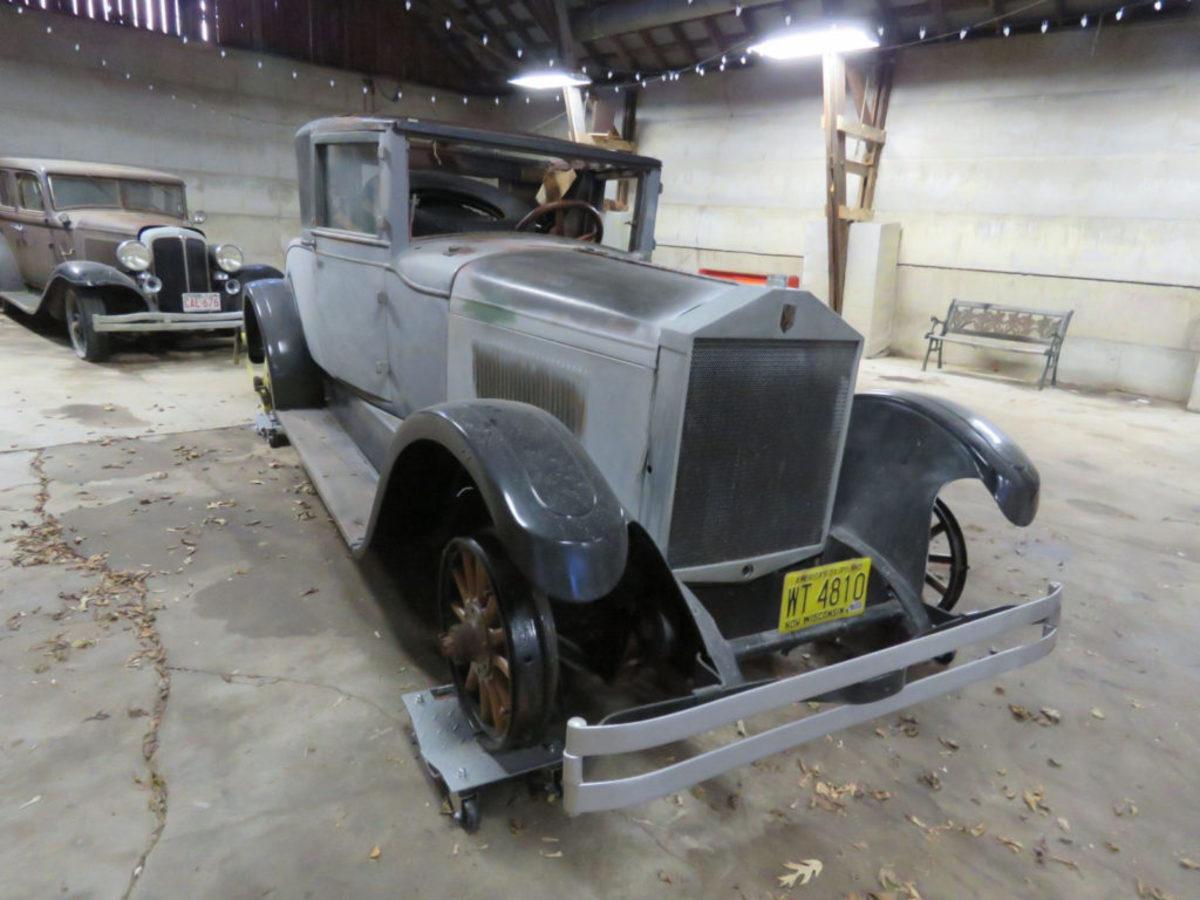1924 Elcar coupe was under restoration.