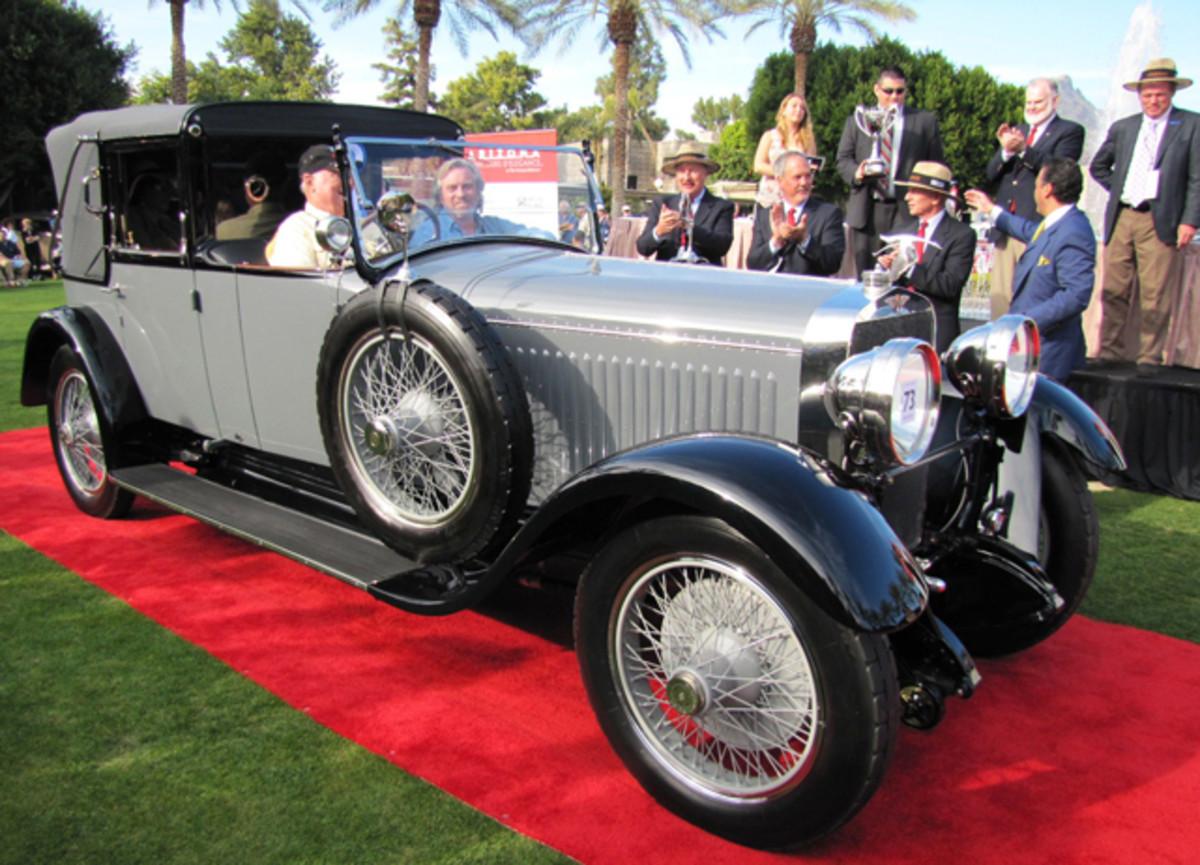 Best of Show won by 1925 Hispano Suiza H6B Cabriolet de Ville (Bob Golfen) Photo)